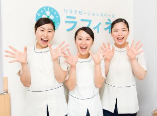 笑顔の女性達